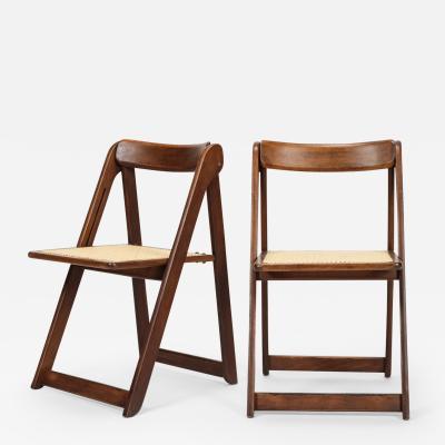 Aldo Jacober Aldo Jacober Set of 2 chairs Trieste Alberto Bazzani 60s