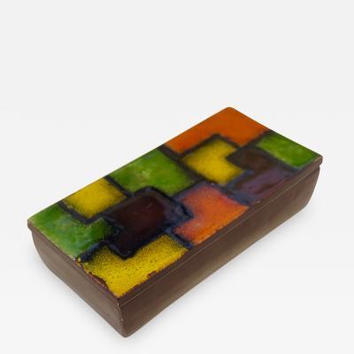 Aldo Londi Aldo Londi Bistossi ceramic box