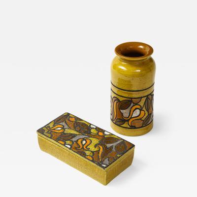 Aldo Londi Aldo Londi Bitossi Pottery Set