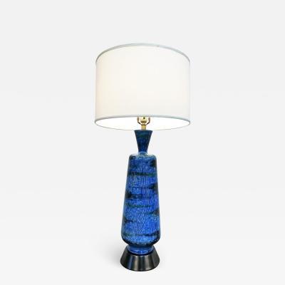 Aldo Londi Beautiful Large Abstract Decor Table Lamp by Aldo Londi for Bitossi Italy