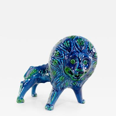 Aldo Londi Mid Century Modern Ceramic Lion by Aldo Londi for Bitossi