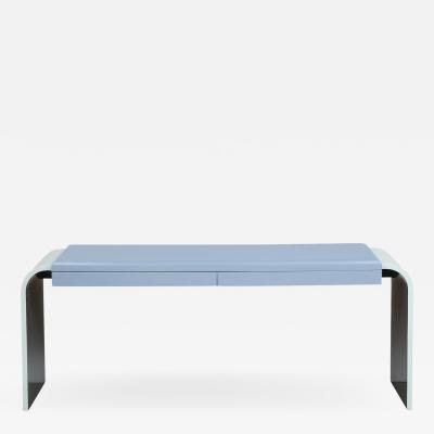 Aldo Tura 2 Drawer Console Table by Aldo Tura