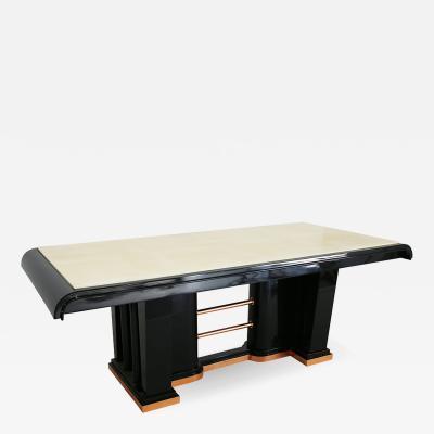Aldo Tura 60s parchment aldo tura table