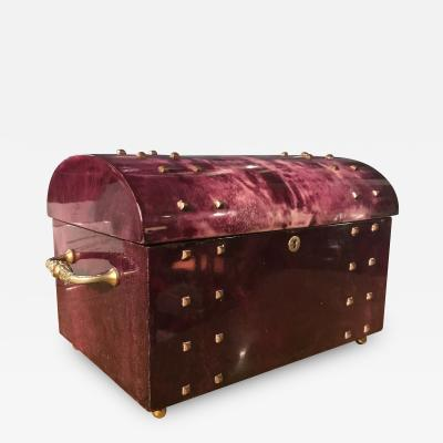 Aldo Tura Aldo Tura Parchment Covered Jewelry Box