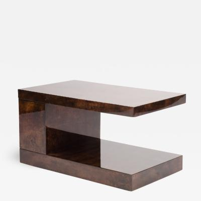 Aldo Tura An Italian goat skin coffee table by Aldo Turra circa 1950