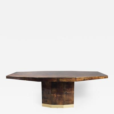 Aldo Tura Center Dining Table by Aldo Tura Italy 1960s