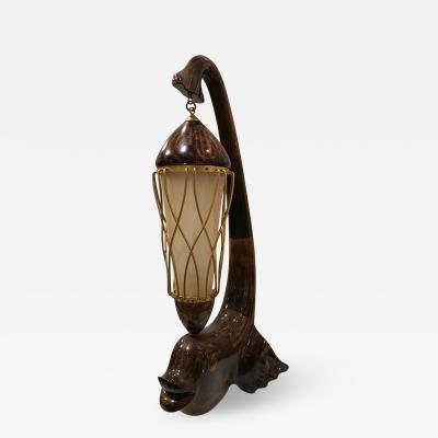 Aldo Tura Italian Mid Century Table Lamp