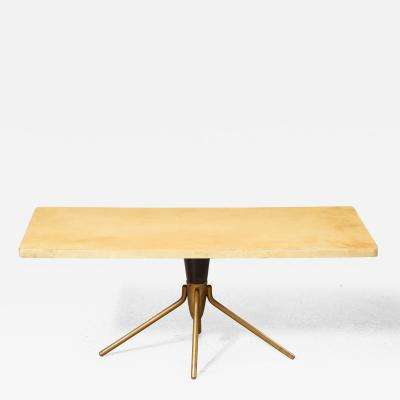 Aldo Tura Parchment Cocktail Table by Aldo Tura