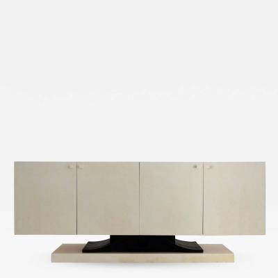 Aldo Tura Sideboard by Aldo Tura in parchment 1970