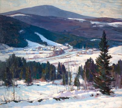 Aldro T Hibbard Bondville Vermont