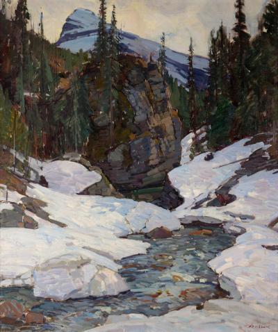 Aldro T Hibbard Lone Peak Canadian Rockies