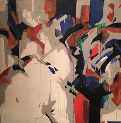 Alec Murphy MODERN COLORFUL ABSTRACT PAINTING