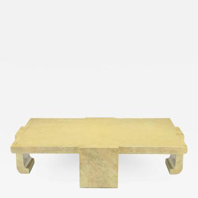 Alessandro Gabrielli Gambalogna Alessandro for Baker Exquisitely Hand Lacquered Coffee Table