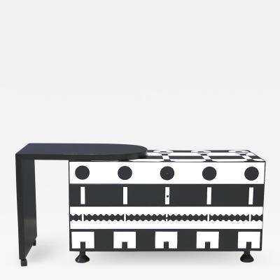 Alessandro Mendini Alessandro Mendini dresser Series Ollo Black and White for Alchimia Design 1980s