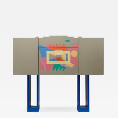 Alessandro Mendini Italian Design Bar Cabinet Cantaride by Alessandro Medini for Zanotta 1984