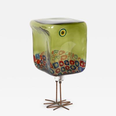 Alessandro Pianon Green Pulcino bird model 191