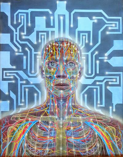 Alex Grey Body Mind and Spirit
