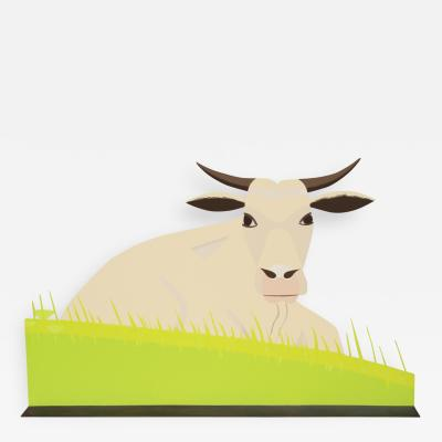 Alex Katz Maine Cow