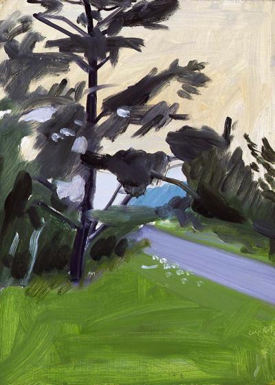 Alex Katz Tree and Road