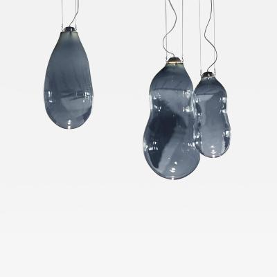 Alex de Witte The Big Bubble Pendants Blue Colored Edition by Alex de Witte