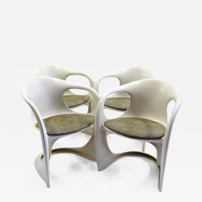Alexander Begge 1970s Casalino Chairs by Alexander Begge for Casala Germany