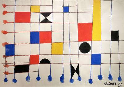 Alexander Calder Checker 1965