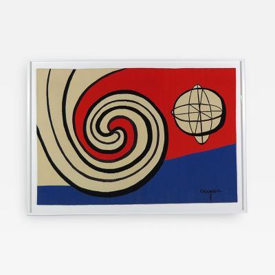 Alexander Calder Tapestry Le Sphere et les Spirales