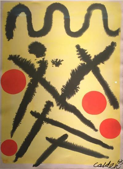 Alexander Calder Untitled 1963