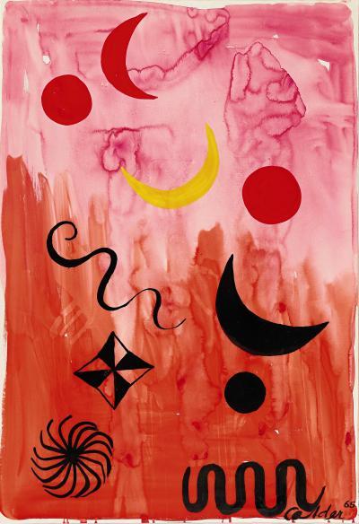 Alexander Calder Untitled 1965