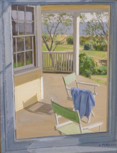 Alexander Farnham View From the Dining Room Window