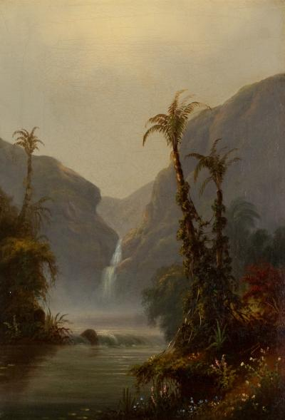 Alexander Francois Loemans Waterfall