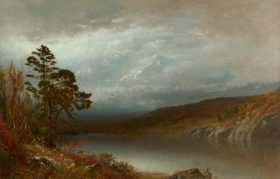 Alexander Helwig Wyant Autumn in the Adirondacks