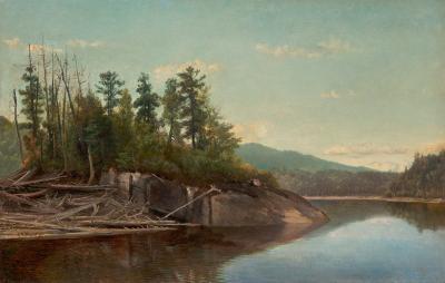 Alexander Helwig Wyant Lake Scene