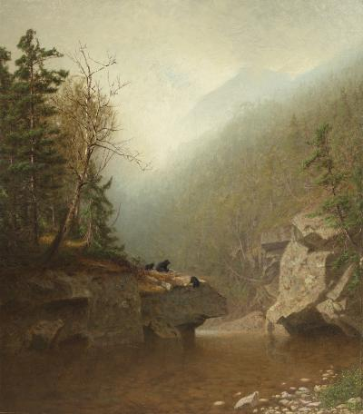 Alexander Helwig Wyant Three Bears