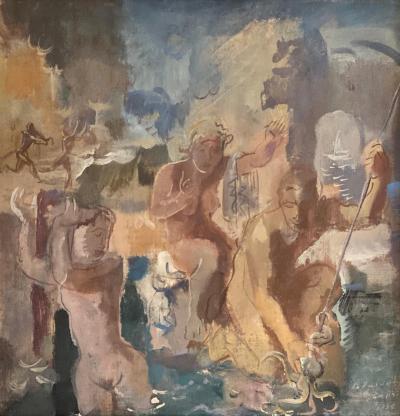 Alexandre Evgenevich Yakovlev Allegory