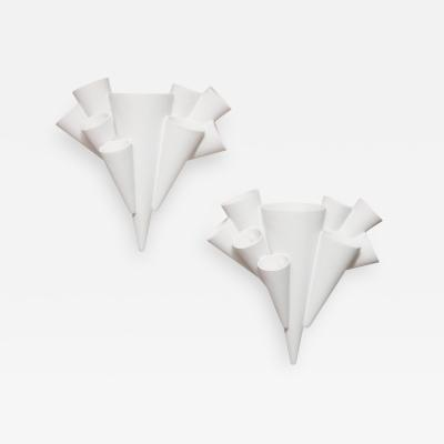 Alexandre Log Coronet Pair of Sconces by Alexandre Log