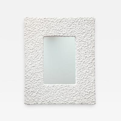 Alexandre Log Neve Plaster Wall Mirror by Alexandre Log