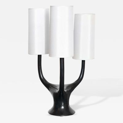 Alexandre Log Triade Bronze Table Lamp by Alexandre Log