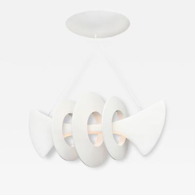 Alexandre Loge Bones Studio Built Ceiling Fixture by Alexandre Log