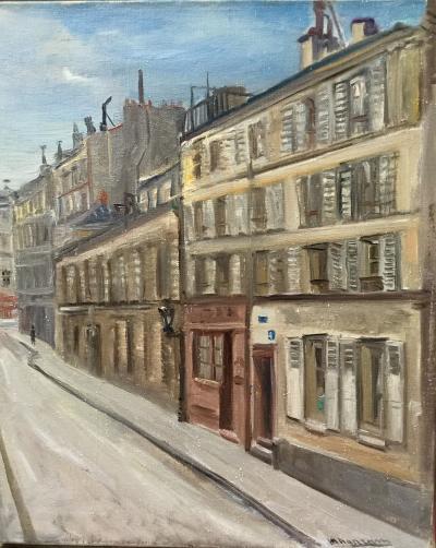 Alexandre Magaram Rue du Foin Marais Paris 1933