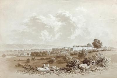 Alexandre Maurice Almeras View of Geneva Switzerland