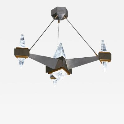 Alexandre Vossion FUJI Rock Crystal chandelier