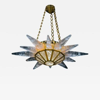 Alexandre Vossion Rock crystal SUNSHINE II lighting MODEL GOLD edition
