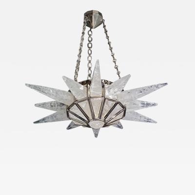 Alexandre Vossion Rock crystal SUNSHINE II lighting MODEL Nickel edition