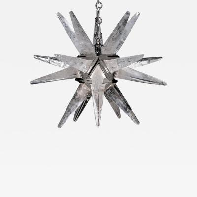 Alexandre Vossion STAR III Rock Crystal Chandelier