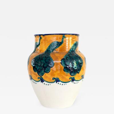 Alf Wallander ALF WALLANDER PEACOCK VASE FOR RORSTRAND