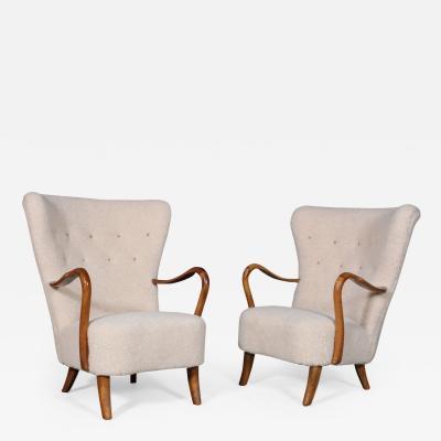 Alfred Christensen Alfred Christensen A pair of armchairs 1950s 2