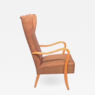 Alfred Christensen Easy Chair Alfred Christensen for Slagelse M belv rk