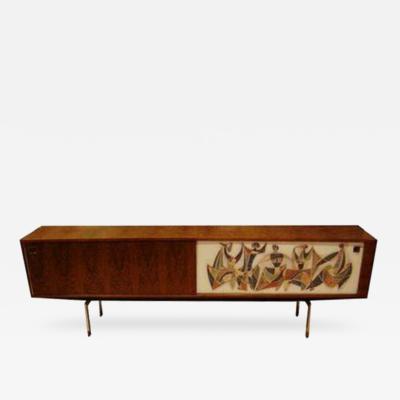 Alfred Hendrickx A Long Modernist Sideboard in Oak by Alfred Hendrickx
