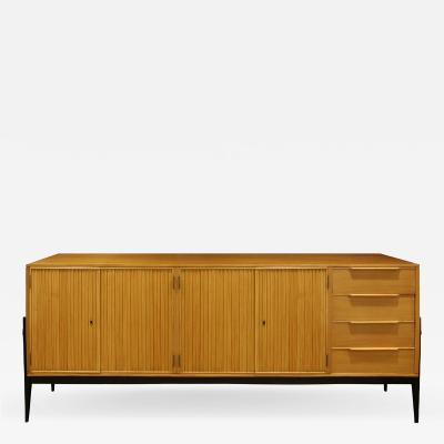 Alfred Hendrickx Alfred Hendrickx Large Credenza in Fruitwood 1950s